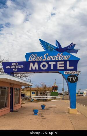 Brunette in een motel