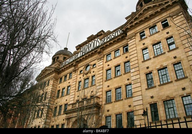 Harrod's Funiture Depository,  Hammersmith,  London