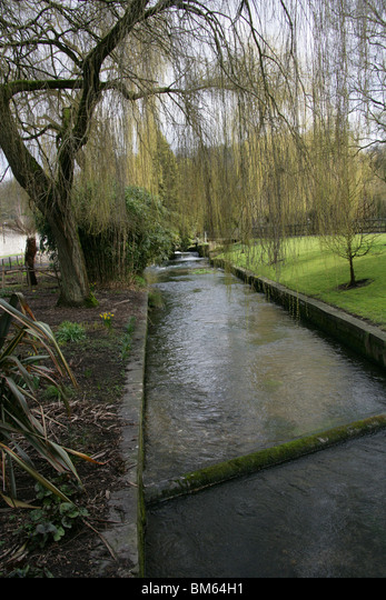 River Itchen,  Winchester,  Hampshire,  UK