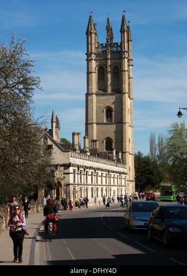 Magdalen College,  Oxford,  Oxfordshire,  UK.