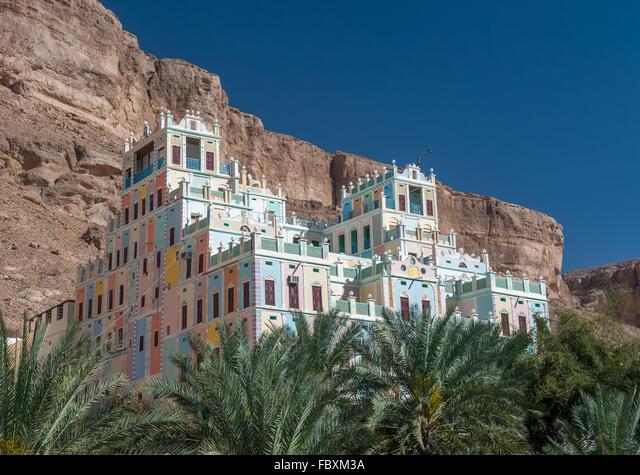 Kataira colorful hotel in Wadi Doan,  Hadramaut,  Yemen